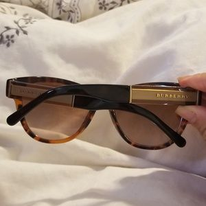 Burberry Accessories - SOLD SOLD Burberry😎 brown Turquoise sunglasses